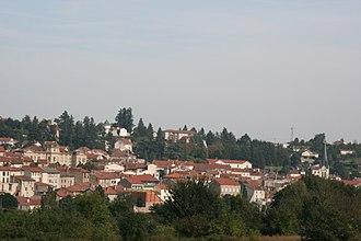 Boën-sur-Lignon - A general view of Boën-sur-Lignon