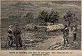 Boer War; the grave of those killed at Bronkhuis Spruit, wit Wellcome V0015632.jpg