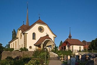 Bösingen, Fribourg - St. Jakob church, Bösingen