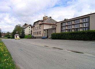 Bohdalín - Image: Bohdalín, municipal office