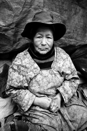 Potosí - Manuel Rivera-Ortiz: widow of the Mines, Potosí, Bolivia 2004