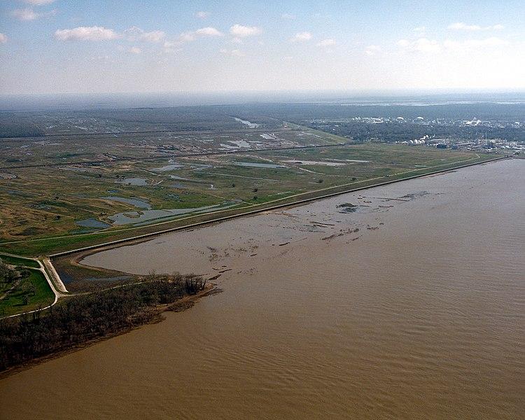 File:Bonnet Carre Spillway aerial view northeast.jpg