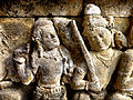 Borobudur - Divyavadana - 011 E, Manohara makes her Escape (detail 1) (11704034836).jpg