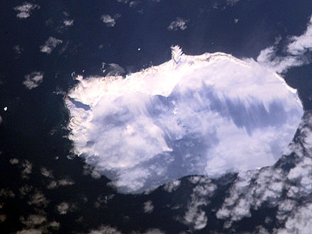 NASA image of Bouvet Island from space Bouvet aerial photo.jpg