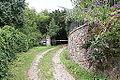 Brána do zahrady u vily Pod Havránkou.JPG