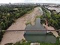 Brücke am Wasserfall in Magdeburg, aerial view 02.jpg
