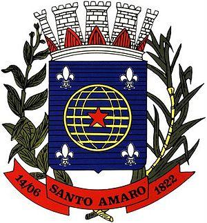 Santo Amaro, Bahia - Image: Brasão de Santo Amaro