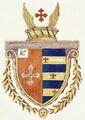 Brasão de armas de Joaquim Pedro Quintela, Barão de Quintela (c. 1805).png