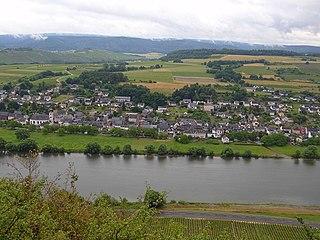 Brauneberg Place in Rhineland-Palatinate, Germany