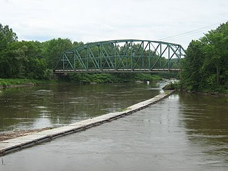 National Register of Historic Places listings in Franklin County, Vermont - Image: Bridge No 9