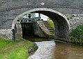 Bridge No 86 and Hack Green Top Lock, Cheshire - geograph.org.uk - 1324963.jpg