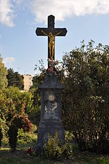 Wayside cross (Merhautova, Hořejší, Brno)