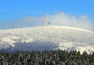 Brocken - The summit of the Brocken, showing the transmitters