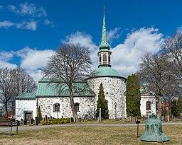 Kirken i april 2013.