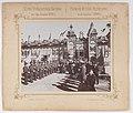 Bronisław Wilkoszewski, Pierwsza Wystawa Przemysłowa w m. Łodzi 1895 r. – goście oficjalni przed wejściem głównym, 2.jpg