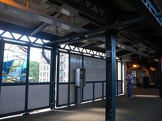 Bronx Park East (IRT White Plains Road Line) - Southbound platform