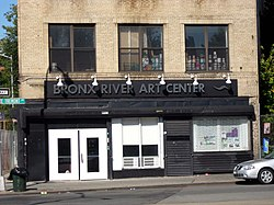 Bronx River Art Center on Tremont Avenue