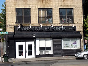 West Farms, Bronx - Bronx River Art Center on Tremont Avenue