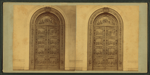 Bronze Door, Capitol, from Robert N. Dennis collection of stereoscopic views.png