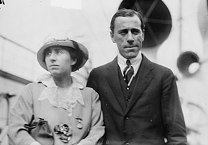 Norman Brookes - Brookes and his wife, Mabel, in 1914