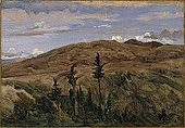 Brooklyn Museum - Mountains in Auvergne (Montagnes d'Auvergne) - Jean-Baptiste-Camille Corot.jpg