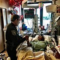 Broward County Sheriff Scott Israel visits Parkland shooting survivor Anthony Borges in the hospital on Feb. 18, 2018.jpg