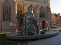Brugge, sculptuur bij de Sint-Salvatorskathedraal foto15 2015-09-27 18.23.jpg