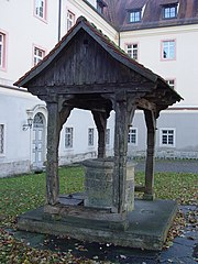 """Water well at the German monastery """"Kloster Wald"""""""