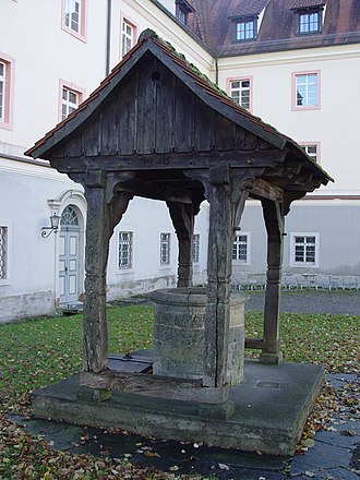 Wald, Baden-Württemberg - Well in the Wald monastery