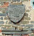Buggiano castello, palazzo pretorio, stemma giglio di firenze.jpg