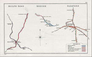 Great Northern and Great Eastern Joint Railway - Image: Buith Road Brecon Sleaford RJD 85