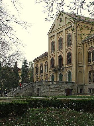 Mihailo Obrenović - Prince Mihailo's summer residence in Aranđelovac.