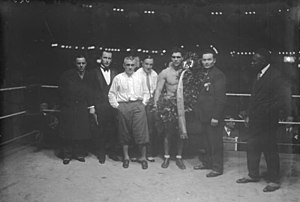 Berlin Sportpalast - Max Schmeling at Sportpalast, 1928.