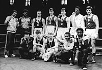 Bundesarchiv Bild 183-1985-0331-006, Halle-Saale, XIV. Internationales Chemie-Pokal-Turnier, Boxer