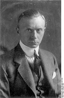 Werner von Rheinbaben German politician