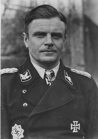 10th SS Panzer Division Frundsberg - Image: Bundesarchiv Bild 183 J28621, Heinz Harmel