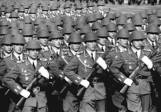 Land Forces of the National People's Army - Parading Land Forces of the National People's Army