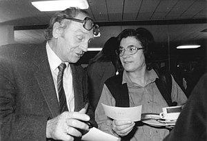 Jurij Brězan - Jurij Brězan with Christa Wolf in 1981