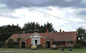 Bungaree, Victoria - The former Morning Star Hotel at Bungaree