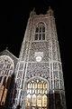 Bungay St Mary's Church tower at night - geograph.org.uk - 2720061.jpg