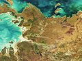 Burning fires in Australia captured by Envisat ESA224624.jpg
