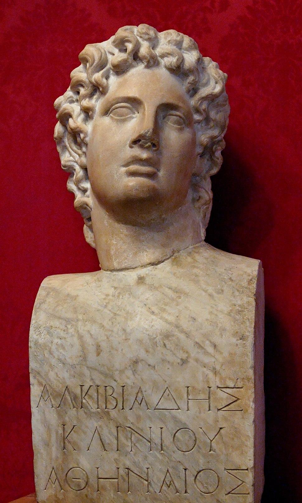 Bust Alcibiades Musei Capitolini MC1160
