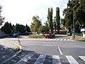 Butovická, u SK Motorlet, z ulice Pod Vidoulí.jpg
