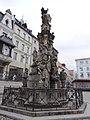 Bystrzyca Klodzka - morová statue z r. 1736 01.jpg