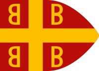 Byzantine imperial flag, 14th century.svg