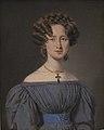 C.A. Jensen - Cecilie Lønborg, gift 1830 med skibsintendant Theodor Emil Ludvigsen - KMS4908 - Statens Museum for Kunst.jpg