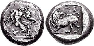 Artemisia I of Caria - Coinage of Caria at the time of Artemisia (c.480-460 BC).