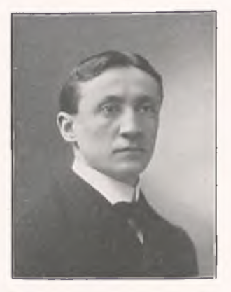 Charles B. Lewis - Lewis pictured in the Kaldron 1903, Allegheny yearbook