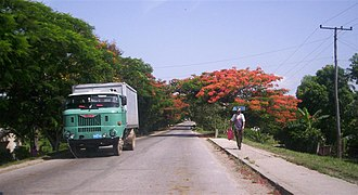 Carretera Central (Cuba) - Image: C Cnear Sto Domingo
