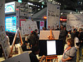 CES 2012 - Samsung Galaxy Note art demo area (6764174501).jpg
